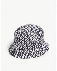 Valentino Garavani Multicolor Logo Print Bucket Hat for men