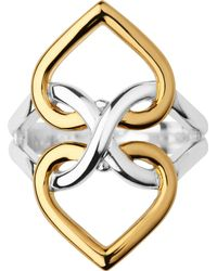 Links of London Metallic Infinite Love 18ct Gold Vermeil And Sterling Silver Ring