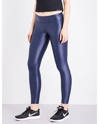 Koral | Blue Lustrous High-shine Leggings | Lyst