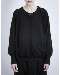 Y-3 - Black Fluid Blouson Jersey Jacket - Lyst