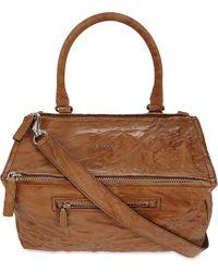 Givenchy - Brown Pandora Medium Leather Shoulder Bag - Lyst
