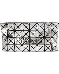 Bao Bao Issey Miyake Metallic Platinum-2 Prism Cross-body Bag