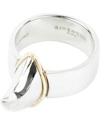 Givenchy | Metallic Shark Tooth Ring | Lyst