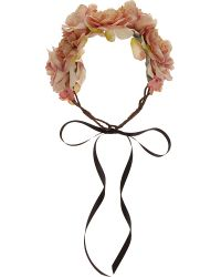 Rock N Rose - Metallic Blossom Crown - Lyst