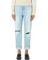 Closed Blue Lil 85 Boyfriend-fit High-rise Jeans