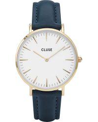 Cluse White Cl18416 La Bohème Gold