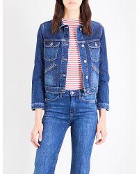 M.i.h Jeans | Blue Stockholm Denim Jacket | Lyst