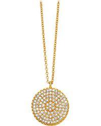 Astley Clarke | Metallic Icon 14ct Yellow-gold Pendant | Lyst