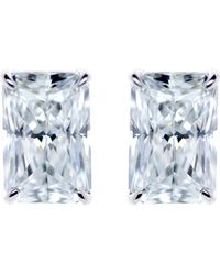 Carat* - Simply Radiant 9ct White Gold And 0.5ct Solitaire Studs - Lyst