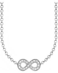 Thomas Sabo   Metallic Glam & Soul Infinity Diamond Necklace   Lyst