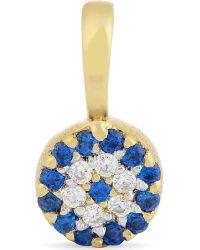 Missoma | Metallic Evil Eye 18ct Gold Vermeil Talisman Pendant | Lyst