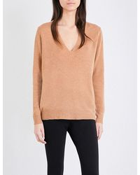 Theory | Multicolor Adrianna V-neck Cashmere Jumper | Lyst