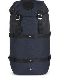 Stighlorgan Blue Conn Nylon Canvas Backpack for men