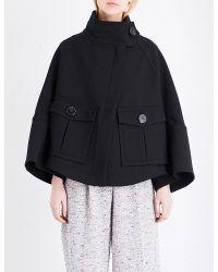 Theory | Black Christoris Woven Jacket | Lyst
