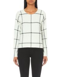 Maje | Natural Mademoise Knitted Jumper | Lyst