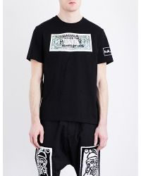 Haculla | Black Never For Money Cotton-jersey T-shirt for Men | Lyst