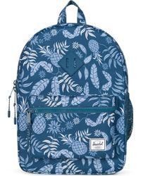 Herschel Supply Co. | Blue Youth Heritage Tropical-print Backpack | Lyst