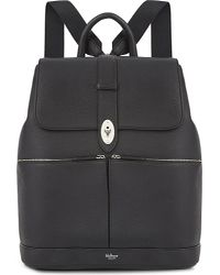 Mulberry Black Reston Leather Backpack