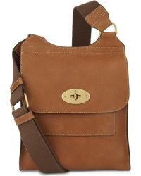 Mulberry - Brown Antony Small Messenger - For Women - Lyst