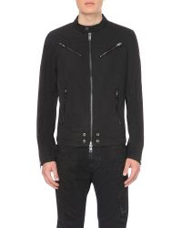 DIESEL   Black J-edgea Shell Jacket for Men   Lyst