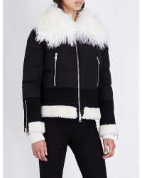 Moncler - Black Kikilia Quilted Shell Jacket - Lyst