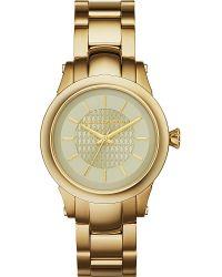 Karl Lagerfeld | Metallic Kl1220 Gold-toned Slim Chain Watch | Lyst