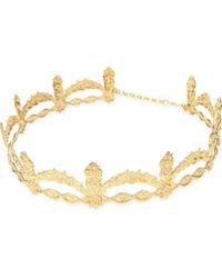 Rock N Rose - Metallic Lilliana Metal Crown - Lyst