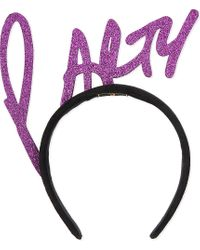 Piers Atkinson - Multicolor Party Glitter Headband - Lyst