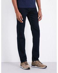 PAIGE | Blue Plus Size Lennox Brax Slim-fit Skinny Jeans for Men | Lyst