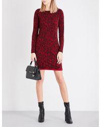 MICHAEL Michael Kors Red Umbria Lace Dress