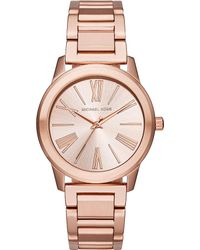 Michael Kors | Metallic Mk3491 Rose Gold-plated Stainless Steel Watch | Lyst