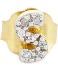 Missoma - Metallic S 18ct Gold Vermeil Stud Earring - Lyst