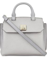 MCM Metallic Milla Leather Cross-body Bag