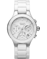 DKNY - Metallic Ny4912 Chambers Stainless Steel And Ceramic Watch - Lyst