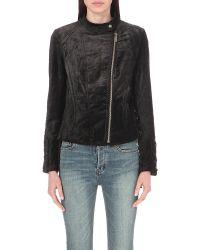 Free People - Black Vintage Wool Jacket - Lyst