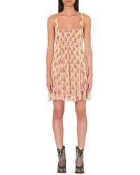 Free People | Multicolor Heart Races Floral Mini Dress | Lyst