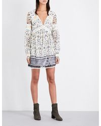 Free People | White Cherry Blossom Lace Dress | Lyst