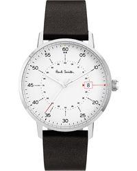 Paul Smith Metallic Gauge P10072 Stainless Steel Watch