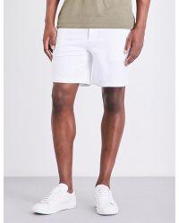Ralph Lauren Purple Label | White Cotton-jersey Lounge Shorts for Men | Lyst