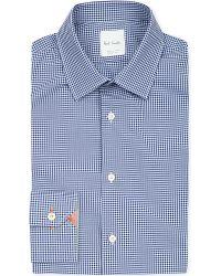 Paul Smith | Blue Soho-fit Gingham Cotton Shirt for Men | Lyst
