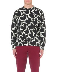 PS by Paul Smith | Black Palm Tree Print Sweatshirt for Men | Lyst
