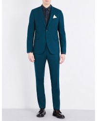 Paul Smith | Green Kensington Wool Suit for Men | Lyst