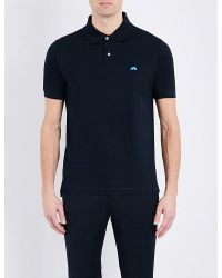 Paul Smith - Blue Dinosaur Cotton Polo Shirt for Men - Lyst