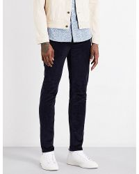 PS by Paul Smith | Blue Slim-fit Skinny Corduroy Stretch-cotton Jeans for Men | Lyst
