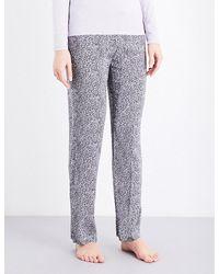 Calvin Klein   Gray Printed Jersey Pyjama Bottoms   Lyst