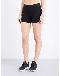 Vyayama - Black Kalablak High-rise Shorts - Lyst