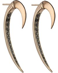 Shaun Leane | Metallic Tusk Rose Gold Earrings | Lyst