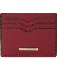 Rebecca Minkoff Red Everyday Leather Card Holder