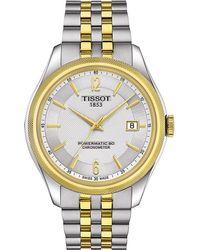 Tissot | Metallic T1084082203700 Ballade Stainless Steel Automatic Watch for Men | Lyst