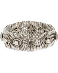 Toga | Metallic Mixed Bracelets Set Of Three | Lyst